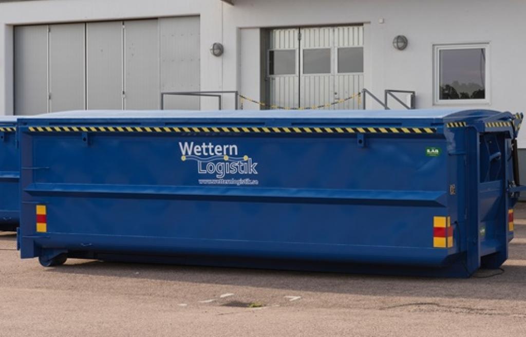 fjärrkontrollshydraulik_container med hydraulik