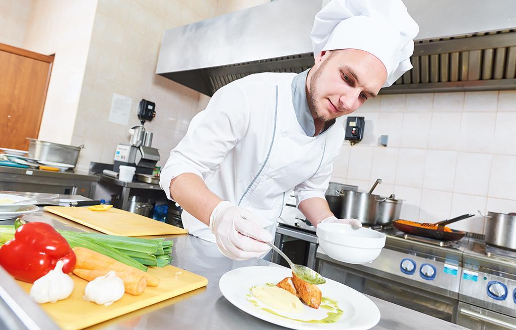 Restaurnag kök matavfall