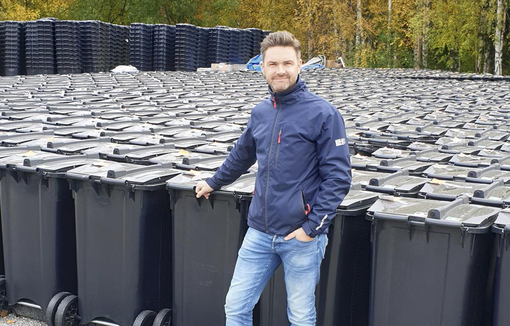 Martin Brandsvig vid SULOkärl